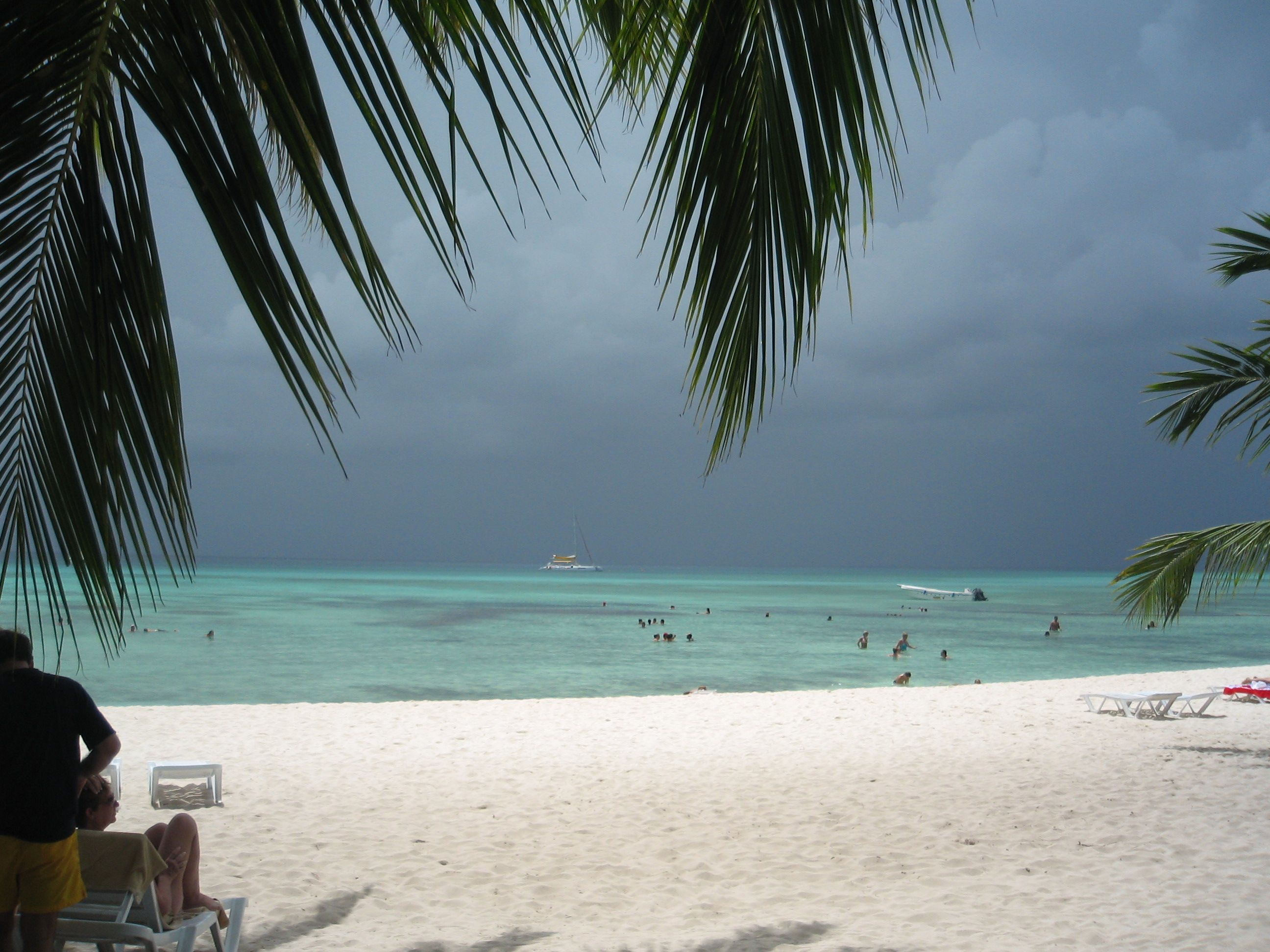 View from Saona